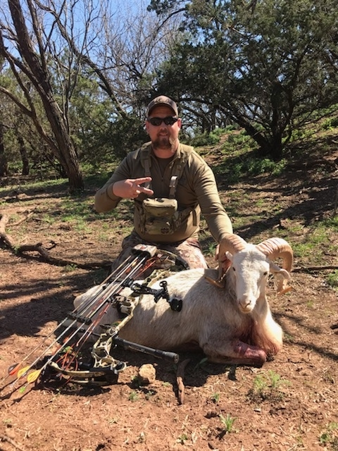 Ram Hunts in Texas
